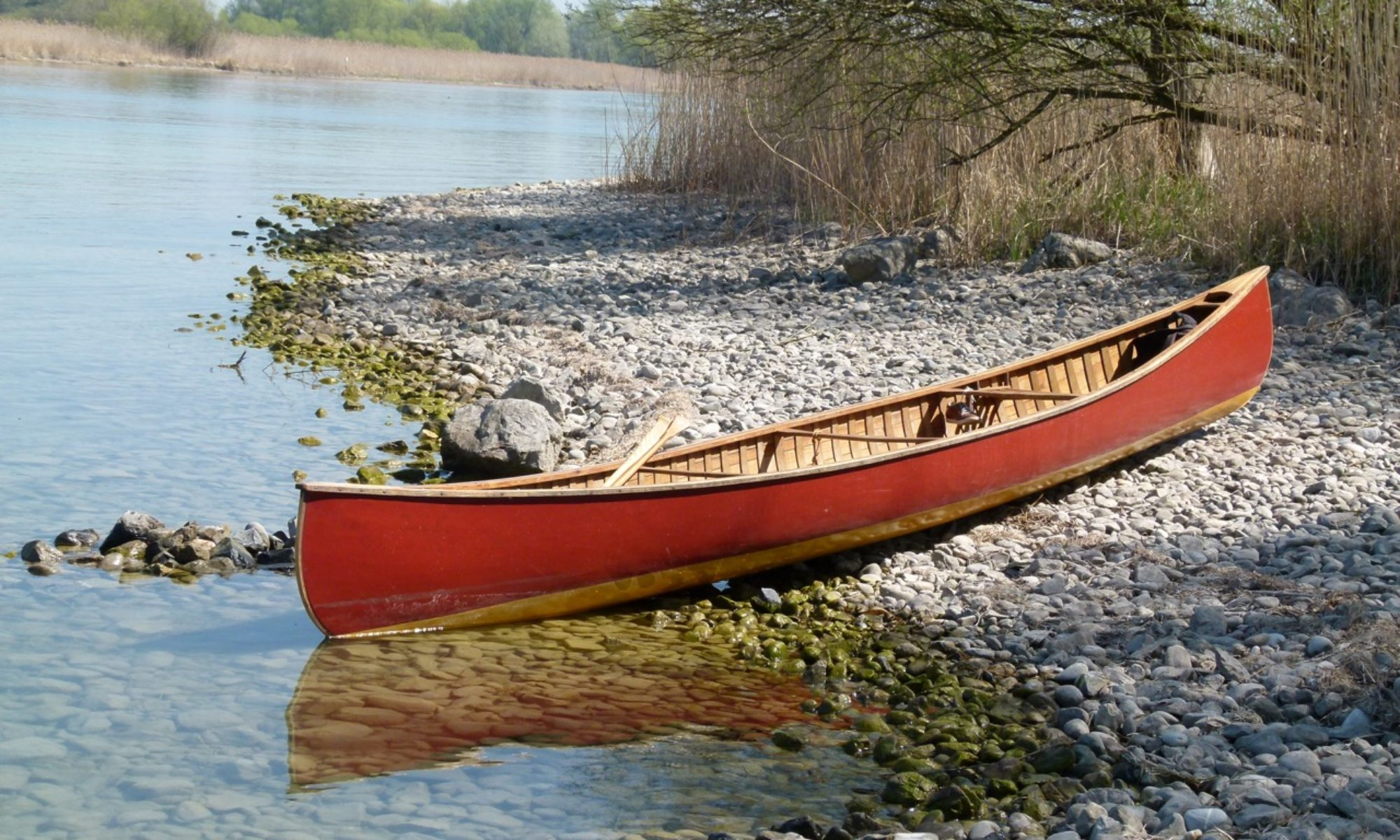 Wood and Canvas Canoes